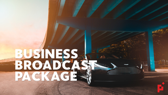 Business Broadcast Pack   Essential Graphics   Mogrt