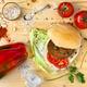 Veggie homemade burger - PhotoDune Item for Sale