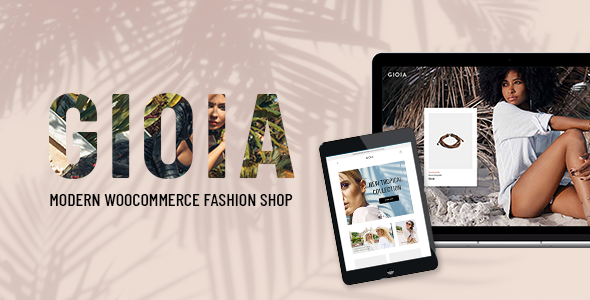 Gioia – Modern Fashion Shop Free Download