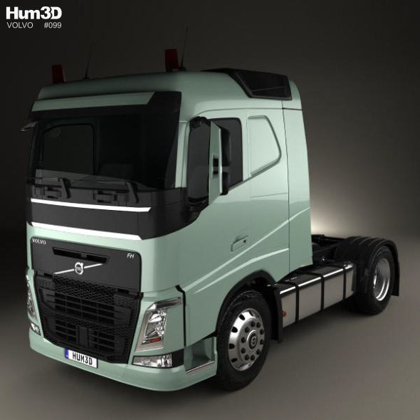 Volvo FH 420 Sleeper Cab Tractor Truck 2-axle 2012