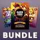 Mardi Gras Flyer Bundle Vol.03 - GraphicRiver Item for Sale