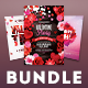 Valentine Flyer Bundle Vol.06 - GraphicRiver Item for Sale