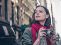 Young photographer with a retro camera - PhotoDune Item for Sale