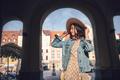 Smiling girl in Europe - PhotoDune Item for Sale
