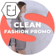 Clean Fashion Promo - VideoHive Item for Sale
