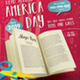 Read Across America Flyer Template School Kids Reading Day - GraphicRiver Item for Sale