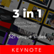 3 in 1 Multipurpose Keynote Template Bundle (Vol.08) - GraphicRiver Item for Sale