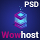 Wowhost - Hosting Business PSD Template - ThemeForest Item for Sale