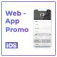 Mobile Web / App Presentation - VideoHive Item for Sale