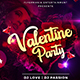Valentine Party Flyer 11 - GraphicRiver Item for Sale