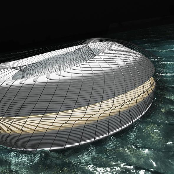Sci-fi parametric structure - 3DOcean Item for Sale