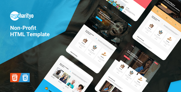 Charityo - NonProfit Fundraising Charity HTML Template