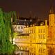 Rozenhoedkaai At Night, Bruges - PhotoDune Item for Sale