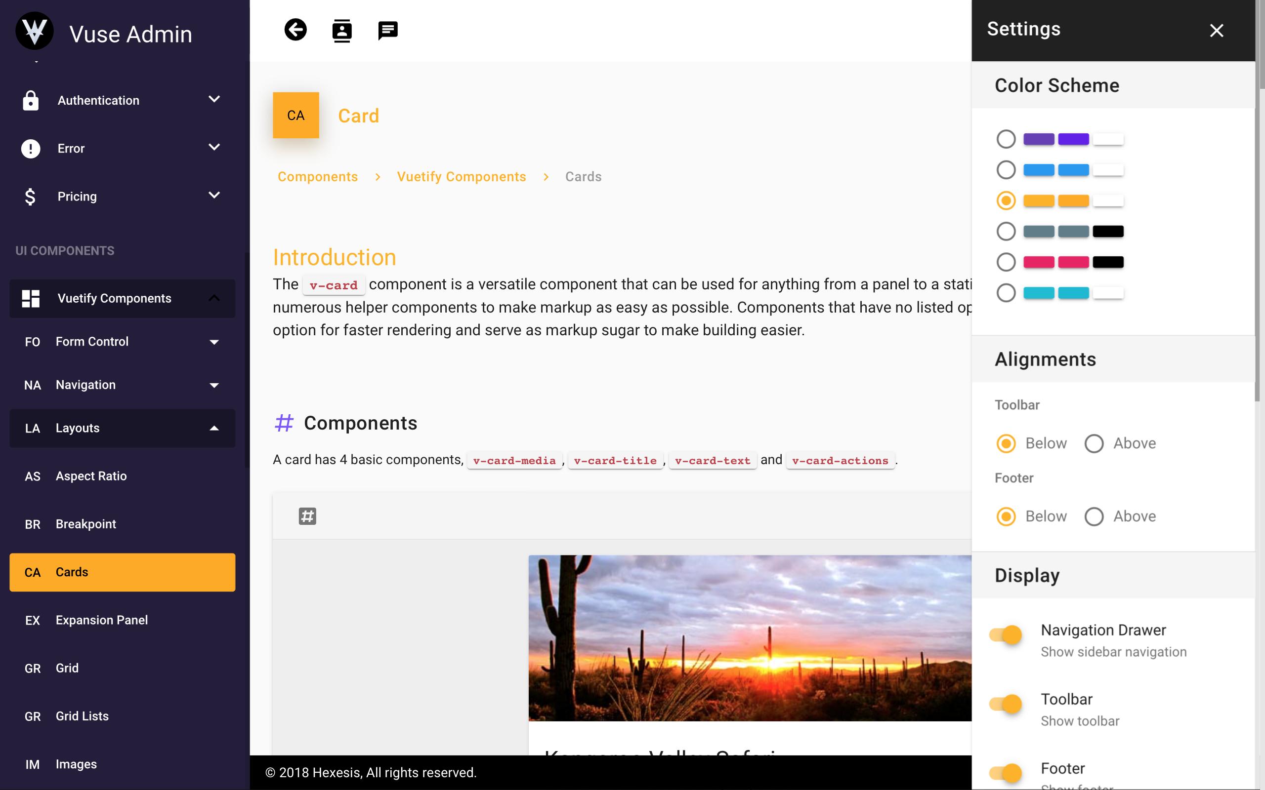 Vuse: VueJs CLI Material Admin