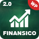 Finansico Consulting - Business Consulting Finance - ThemeForest Item for Sale