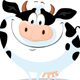The Fat Cow - Farm Animal Vector Illustration - GraphicRiver Item for Sale