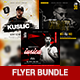 Bundle of 3 Guest Dj Flyers - GraphicRiver Item for Sale