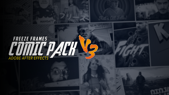 Freeze Frames: Comic Pack V3