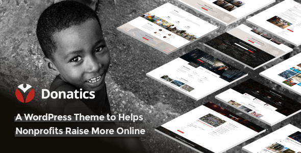 Donatics - Charity & Fundraising WordPress Theme - Charity Nonprofit