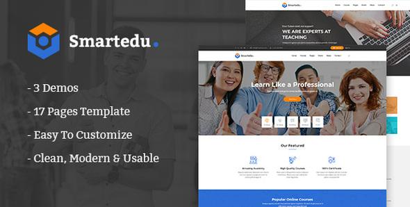 SmartEdu | Education & Courses HTML Template