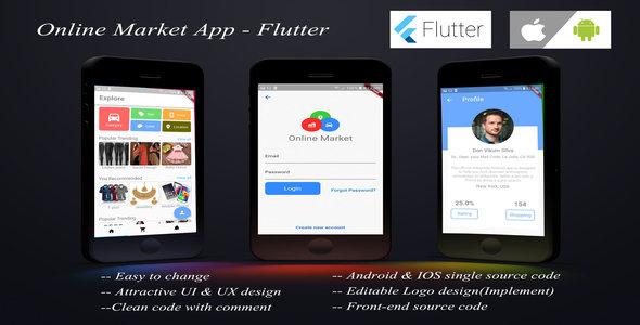 Online Shopping App - Flutter