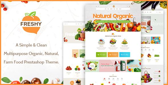 Freshy - Creative Organic Responsive Prestashop Theme