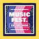 Music Festival Flyer Set - GraphicRiver Item for Sale