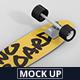 Skateboard Longboard Mockup - GraphicRiver Item for Sale
