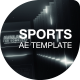 Dark Room Sports Cinematic Titles - VideoHive Item for Sale