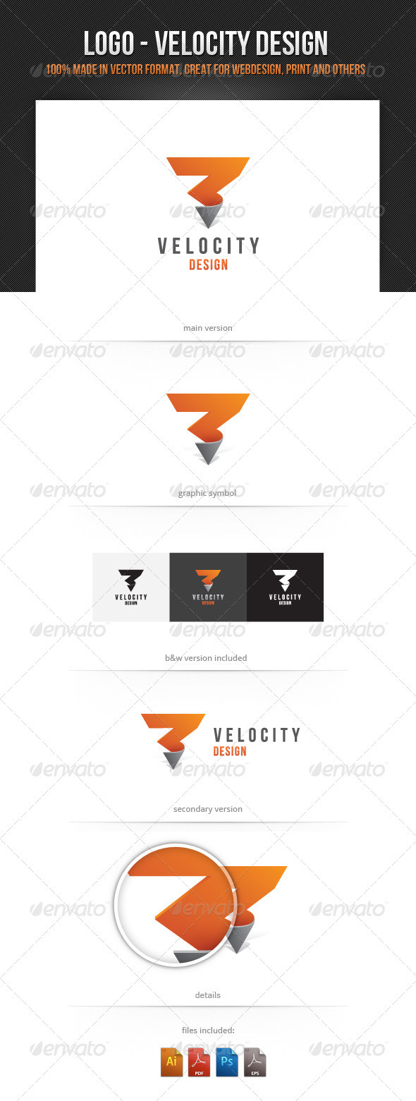Velocity Design - Vector Abstract