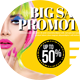 Big Sale Promotion PostCard - GraphicRiver Item for Sale