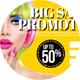 Big Sale Promotion PostCard - GraphicRiver Item for Sale