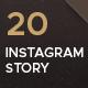 20 Instagram stories - GraphicRiver Item for Sale