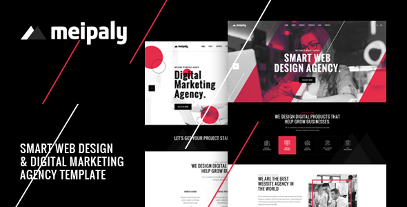 Meipaly - Digital Services Agency HTML5 Responsive Template