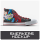 Sneakers Mock-Up v1 - GraphicRiver Item for Sale