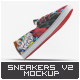 Sneakers Shoes Mock-Up v2 - GraphicRiver Item for Sale