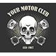 Vintage Motorcycle Club Emblem - GraphicRiver Item for Sale