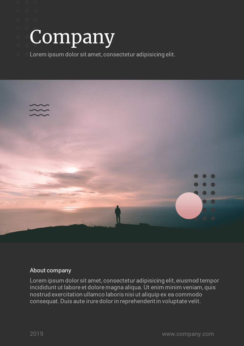 Modern Vertical - PowerPoint Template