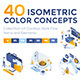 Set of Modern Isometric Concepts - GraphicRiver Item for Sale