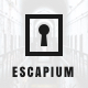 Escapium - Escape Room Game Sketch Template