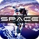 Astronaut Above The Earth - VideoHive Item for Sale