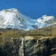 Views of peaks and waterfall in the to Paron lake - PhotoDune Item for Sale
