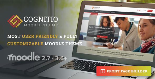 Cognitio   Premium Moodle Theme - Moodle CMS Themes