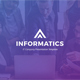 Informatics - IT Company Google Slides Template - GraphicRiver Item for Sale