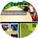 Travel Agency Promotion PostCard - GraphicRiver Item for Sale