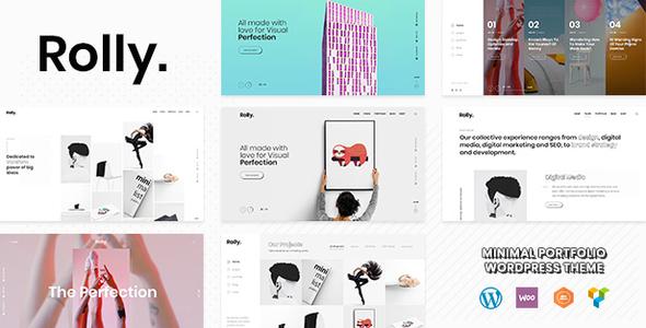 Rolly Portfolio | Portfolio WordPress Theme