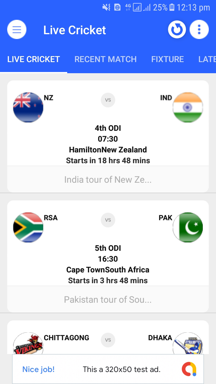 Live Cricket Score & News and Live TV