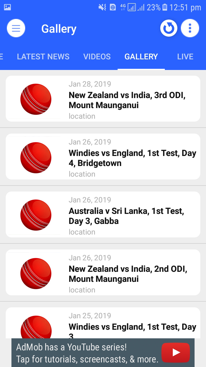 Live Cricket Score & News and Live TV