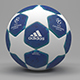 UEFA Champions League Official Ball 2019 - 3DOcean Item for Sale