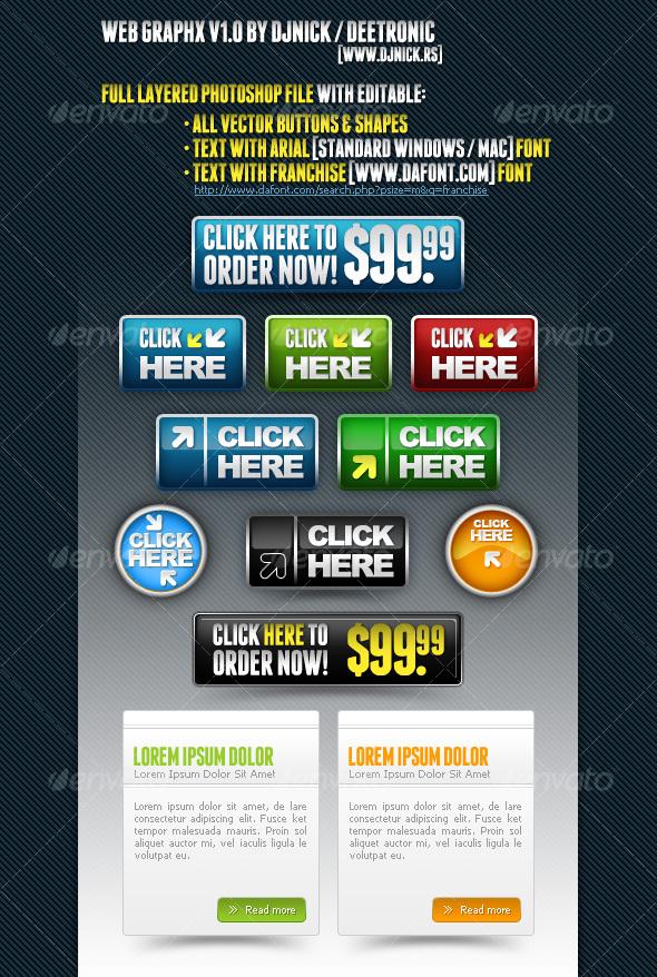 Web Graphics 1 - Miscellaneous Web Elements